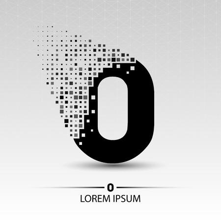 Nummer nul vector ontwerp illustratie
