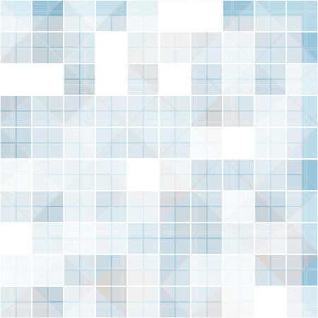 overlapped: abstract square at overlapped, blue tone background vector