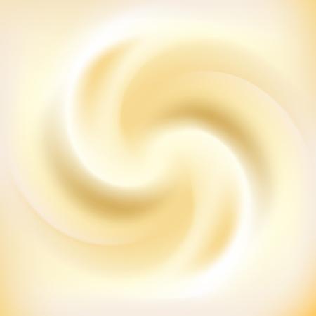 milk cream and caramel swirl background vector