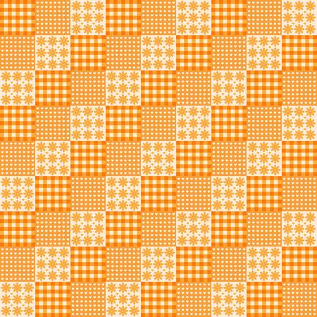 vector lines geometric orange pattern background illustration Vectores