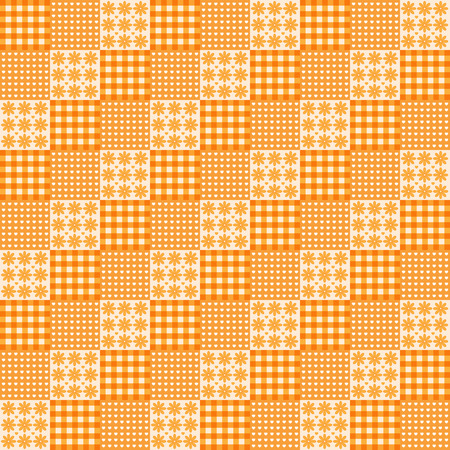 vector lines geometric orange pattern background illustration Illustration