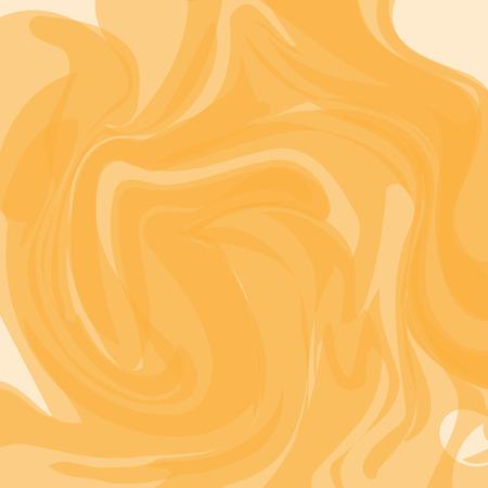 Marble orange pattern, overlay spiral background, vector Illustration