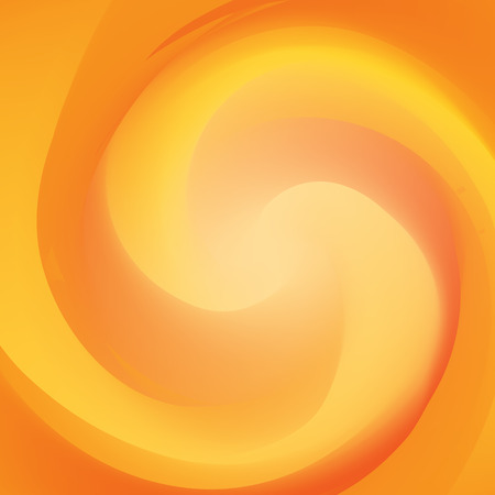 interweave: abstract yellow and orange interweave smooth twist background vector Illustration