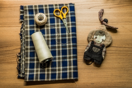 avocation: Hand made doll and materials