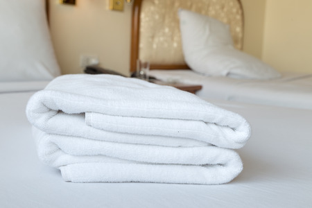 roomservice: Towels in a hotel room