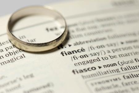 結婚リング 写真素材