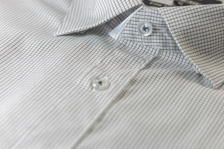 drycleaning: Collar of shirt