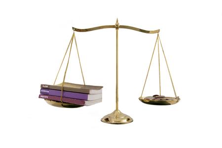 Balance between law and bribe