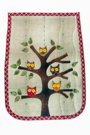 quilt: Quilt : Owls on tree