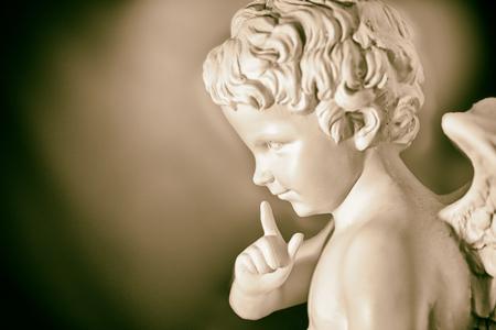 psique: Cupido (tono sepia)