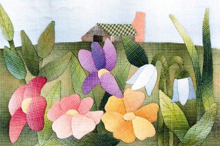 Quilt : Flowers