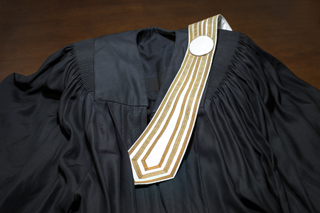 barrister: Barrister toga of Thailand