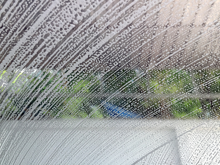 car wash: Car wash from inside