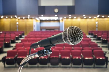Microphone in meeting room
