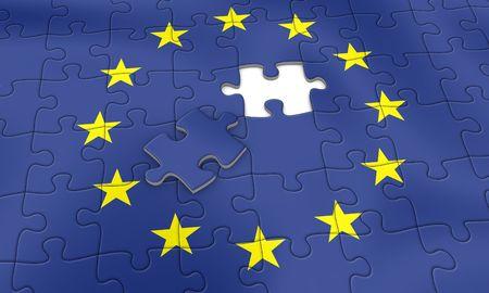 almost: European Union Puzzle - almost done
