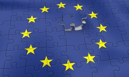 European Union Puzzle - completing
