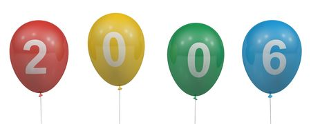0 1 years: Balloons of 2006