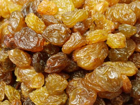 Dry raisin closeup Stock Photo - 317170