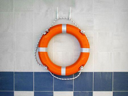 salvavidas: Lifebuoy en Wall