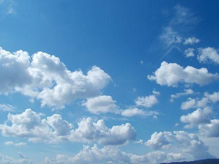 cloud drift: Cloudy sky panorama