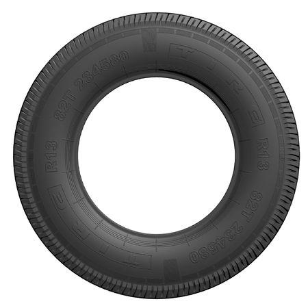 Detailed tire (3d render)