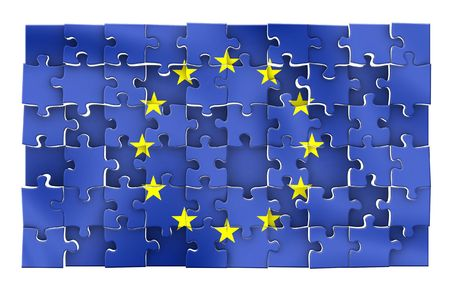 European Union Flag puzzle
