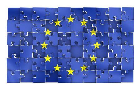European Union Flag puzzle