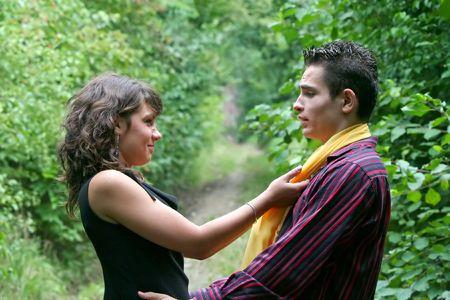 seducing: Ragazza sedurre il suo ragazzo