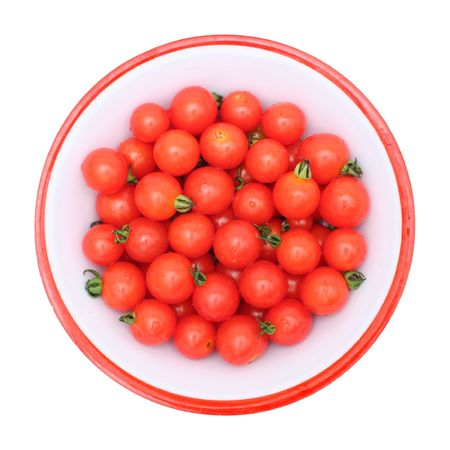 Top view of small tomatoes Stock Photo - 536631