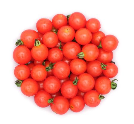 A lot of small tomatoes Stock Photo - 536630