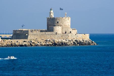 rhodes: St. Nicholas Fortress, Rhodes, Rhodes, Greece