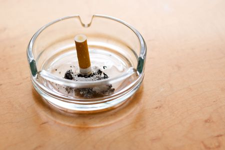 The end of the life with cigarette - a new beginning without smoking photo