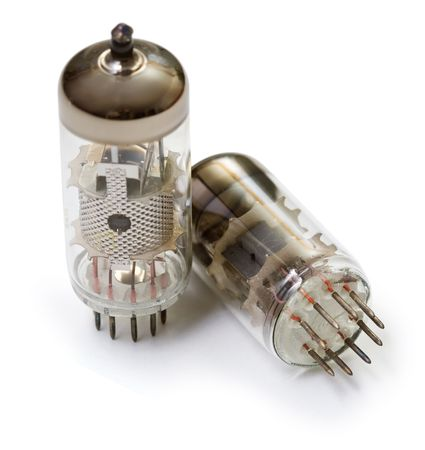 triode: Vacuum tubes - old electronic components, semiconductor devices, the predecessors of the transistor