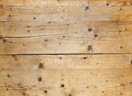 wood background texture: Natural fir wood texture with cracks and knots