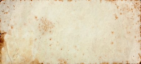 Very dirty old paper texture Stock Photo - 16059602