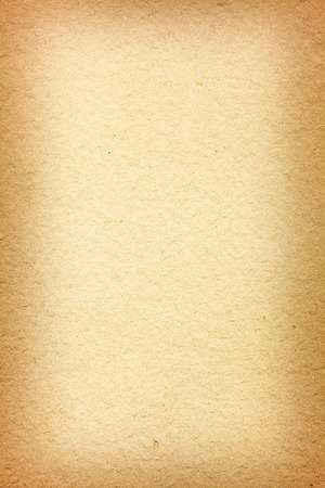 vignetting: Rough old paper texture with vignetting borders Stock Photo