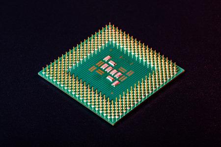 microprocesadores: Parcial Inform�tica: vista inferior del microprocesador