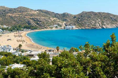 ios: Mylopotas beach in Milopotas village, Ios island, Greece