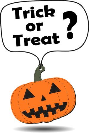 hang tag: Hang tag Halloween pumpkin.