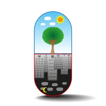 capsule: Capsule of life Illustration