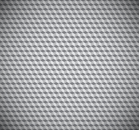 cubic: Cubic illusion texture seamless pattern vector