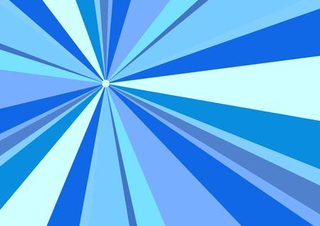 radius: Rays Radius Background Blue Vector Illustration