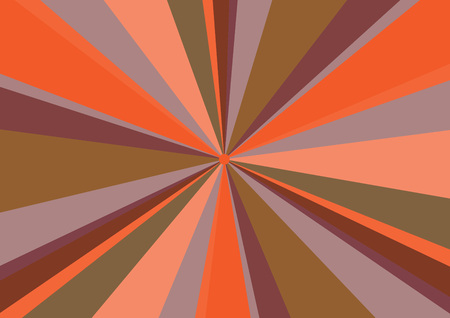 radius: Rays Radius Background Center Orange Vector Illustration