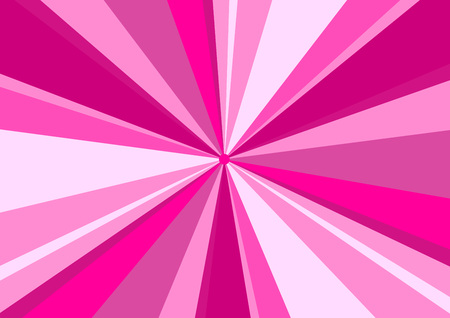 radius: Rays Radius Background Center Pink Vector Illustration Illustration