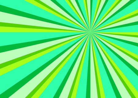 ray of light: Light Ray Burst Abstract Background Green Illustration Illustration