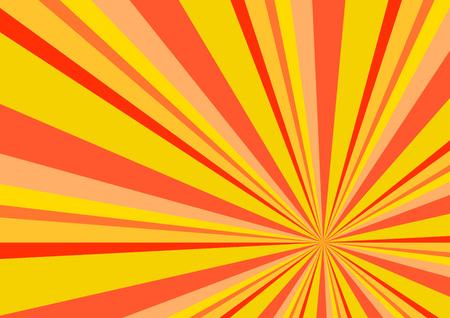 ray of light: Light Ray Burst Abstract Background Orange Illustration Illustration