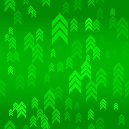 green arrow: Up Green Arrow Seamless Pattern Background Vector Illustration