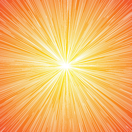 speed: Sun Burst Blast Speed Line Comic Background Vector Illustration Illustration