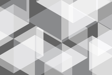 surface: White Grey Geometric Abstract Background Vector Illustration