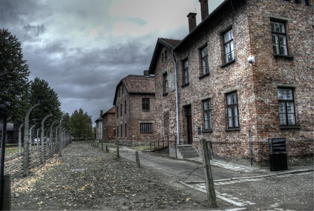 dormitories: Auschwitz